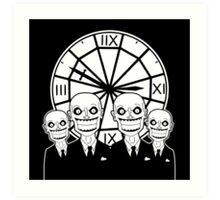 The Gentlemen - Buffy the Vampire Slayer Art Print