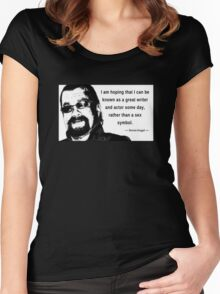 Steven Seagal - Sex Symbol Women's Fitted Scoop T-Shirt