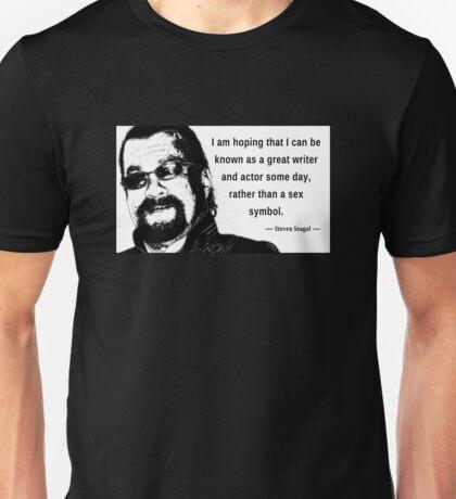 Steven Seagal - Sex Symbol Unisex T-Shirt