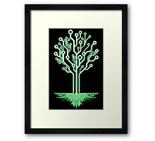 Tree of Technological Knowledge Framed Print