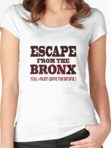 Escape From The Bronx - V2 Women's Fitted Scoop T-Shirt