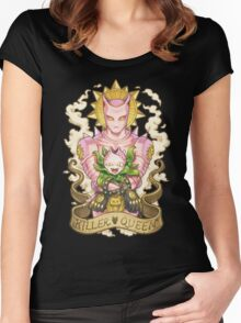 Explosive bubble Women's Fitted Scoop T-Shirt