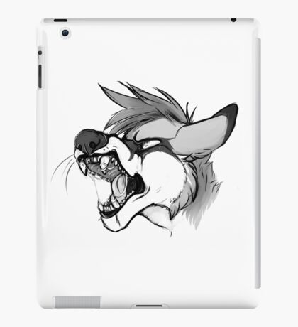 Rawr Fox iPad Case/Skin