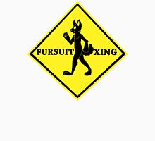 Caution: Fursuit Xing Mens V-Neck T-Shirt