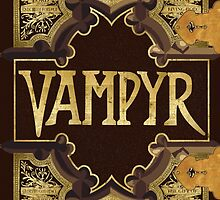 Vampyr Book - Buffy the Vampire Slayer by BovaArt