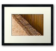 Picketted Framed Print