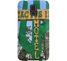 Route 66 - Cactus Inn Motel Samsung Galaxy Case/Skin