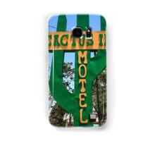 Route 66 - Cactus Inn Motel Samsung Galaxy Case/Skin