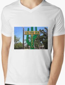 Route 66 - Cactus Inn Motel Mens V-Neck T-Shirt