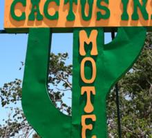 Route 66 - Cactus Inn Motel Sticker