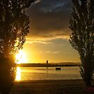 Sunrise at Lake Burley Griffin in Canberra/ACT/Australia (2) by Wolf Sverak
