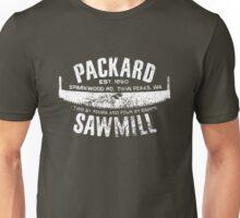 Packard Sawmill (Light logo) Unisex T-Shirt