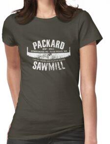 Packard Sawmill (Light logo) Womens Fitted T-Shirt