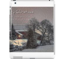 Christmas On The Farm iPad Case/Skin