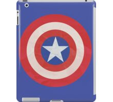 Captain America Simple Logo T-Shirt iPad Case/Skin