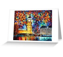 Big Ben, London — Buy Now Link - http://goo.gl/Q4PhhB Greeting Card