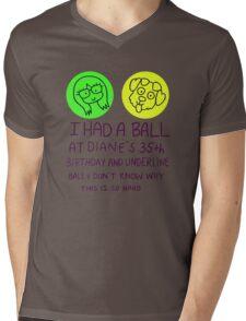 Diane´s birthday Mens V-Neck T-Shirt