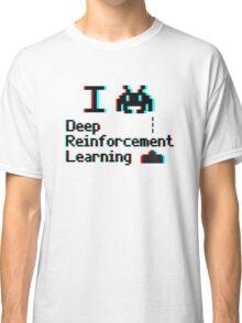 I heart deep reinforcement learning (8-bit 3D) Classic T-Shirt