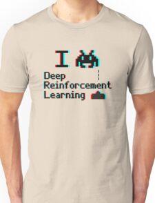 I heart deep reinforcement learning (8-bit 3D) Unisex T-Shirt