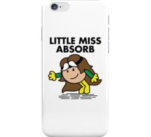 Little Miss Absorb iPhone Case/Skin