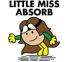 Little Miss Absorb Photographic Print