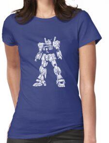 Gundam Mk2 Womens Fitted T-Shirt