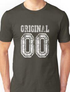 Original 00 2000 Birthday Birth date Cute Funny Gift T Shirt Tee For Women Men Unisex T-Shirt