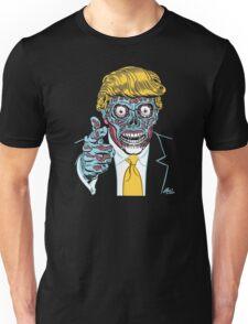 "Donald Trump ""They Live"" Alien - Never Trump Funny T-shirt Unisex T-Shirt"