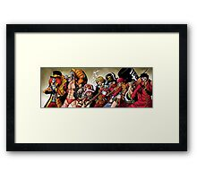 One Piece Film Z Framed Print