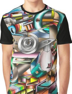 The illusion of City life Graphic T-Shirt