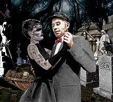 ED GEIN GRAVE DANCING by dgstudio