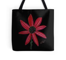 Red Flower by William Solis Tote Bag