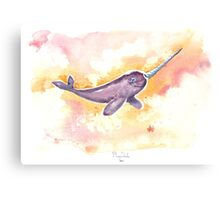 Flight of the Narwhal  Canvas Print