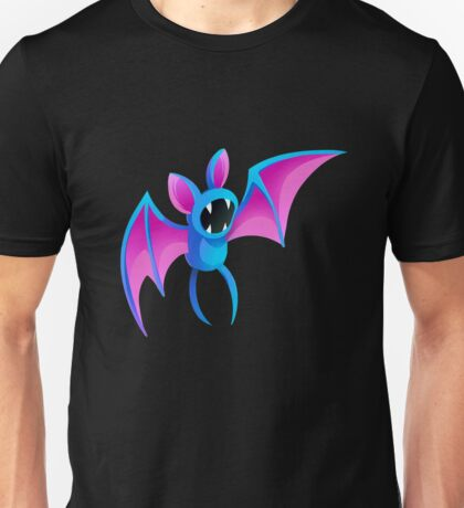 Blue Bat Unisex T-Shirt