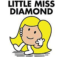 Little Miss Diamond Photographic Print