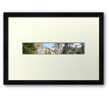 Panoramic Of Yellowstone Framed Print