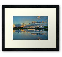 Green Cay Day Break Framed Print