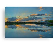 Green Cay Day Break Canvas Print