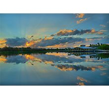 Green Cay Day Break Photographic Print