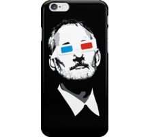 Bill Murray 3D Glasses iPhone Case/Skin