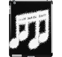 Death Metal Notes (Inverted) iPad Case/Skin