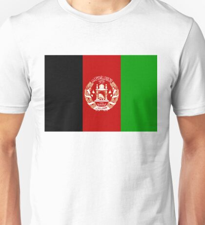 Flag Afghanistan Unisex T-Shirt
