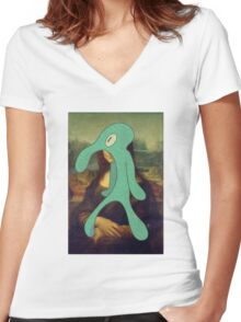 Bold and Brash Women's Fitted V-Neck T-Shirt