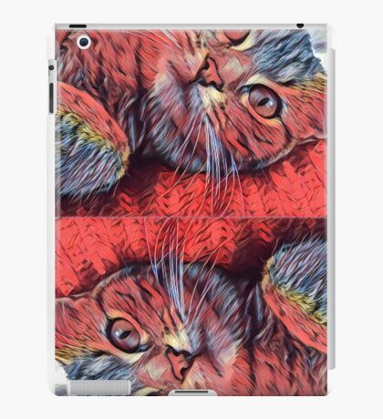 Double trouble iPad Case/Skin