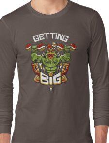 Getting Big Green Bowser Long Sleeve T-Shirt