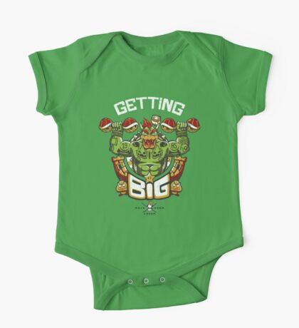Getting Big Green Bowser One Piece - Short Sleeve