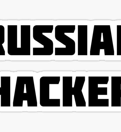 Russian Hacker Sticker