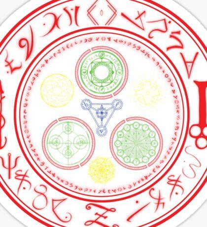 Halo of Alchemy Sticker