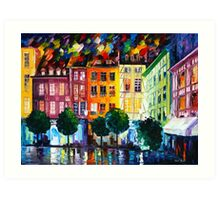 ROUIN- FRANCE - Leonid Afremov Art Print