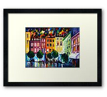 ROUIN- FRANCE - Leonid Afremov Framed Print